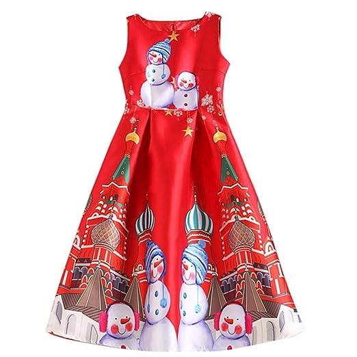 54274263898 Amazon.com  Sinfu Womens Santa Snowman Christmas Dress Sleeveless Xmas  Swing Retro Dresses  Clothing