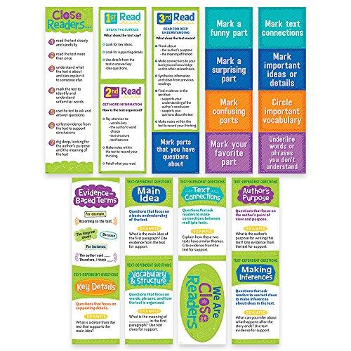 Creative Teaching Press Close Reading Mini Bulletin Board, Gr. 3-5