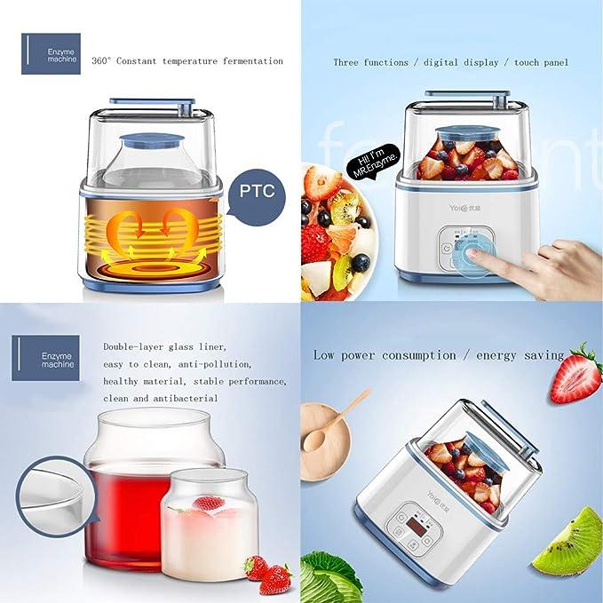 Fabricante de yogur Máquina de la máquina de la enzima ...