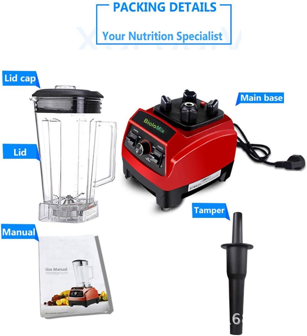L.HPT Licuadora-polifuncional Smoothie Maker, juicer & Grinder-2Mezcla Jarra, batido de Alimentos licuadoras Homtiky: Amazon.es
