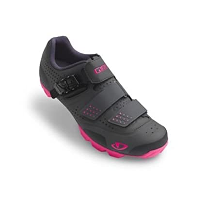 Giro Manta R Cycling Shoes - Womens Dark Shadow/Bright Pink 36