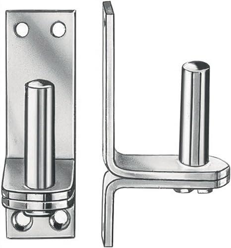 CARDINE stiftd 16/mm altezza 104/mm larghezza 40/mm dii su piastra 10/St.