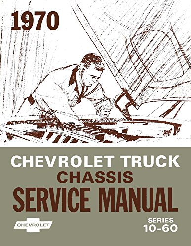 bishko automotive literature 1970 Chevy GMC C/K 10-60 Light Med Truck Shop Service Repair Manual Book ()