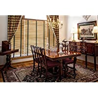 LAMINATED POSTER Window Chairs Dining Room Buffet Sideboard Table Poster Print 24 x 36