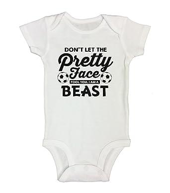 Amazon.com  Baby Girl Soccer Onesie