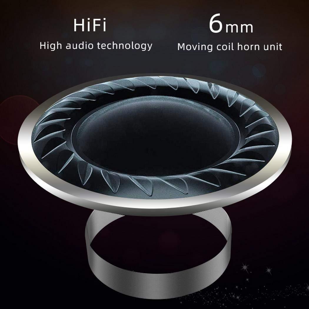 mekolen Drahtlose Bluetooth-Kopfhörer-Stereo-In-Ear-Mini-Sport-Headsets mit Ladekiste Kopfhörer