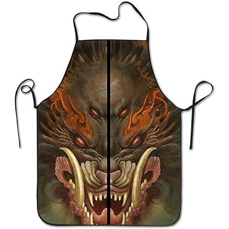 Chino Dragón Emperador Diseño Cocina Divertido para Cocina ...