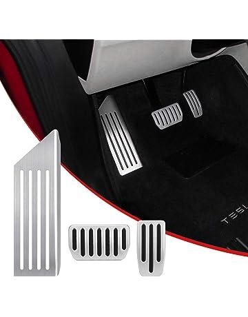 SUPAREE Model 3 Anti-Slip Foot Pedal Pads, Auto Aluminum Pedal Covers, Accelerator