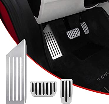 Automatic Transmission Car Accelerator Brake Pedal Cover Non-Slip Foot Rest