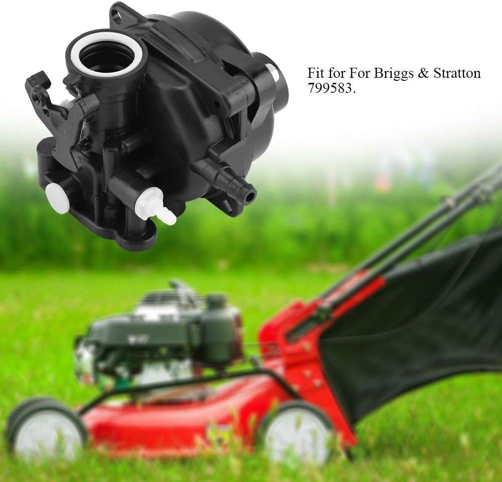 DeWin Lawn Mower Carburetor Lawn Mower Plastic Carburetor For Briggs /& Stratton 799583