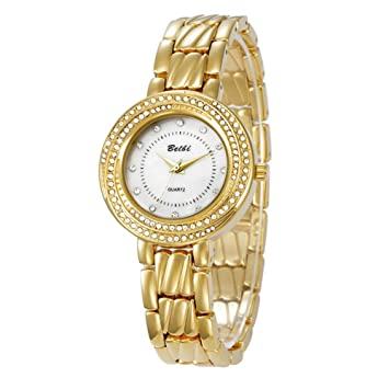 SW Watches Relojes De Las Mujeres, Diamantes De Imitación Pequeño Diseño Dail, Pulsera De