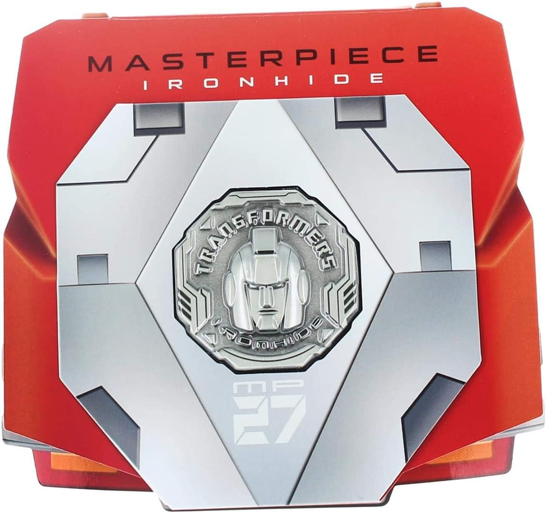 TAKARA TOMY Transformers Masterpiece MP-27 IRONHIDE figure EXCLUSIVE COIN