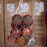 Hua Yang| 115cm Multifunction Sports Balls Storage Net Bag Draw Cord Closure Mesh Carry Net For Basketball Football New