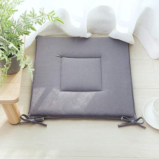YEARLY Color Sólido Comida Cojines para Sillas, Japonés ...