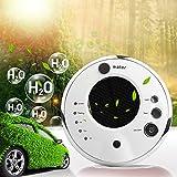 Car Air Purifier,Banaroo Solar anion humidifier,Portable Ionic Air Freshener Ionizer Oxygen Bar,In addition to formaldehyde PM2.5,USB Car Air Humidifiers. (White)