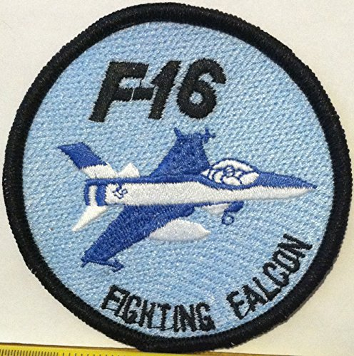 F-16 FIGHTING FALCON USAF Iron On Patch for sale  Delivered anywhere in USA