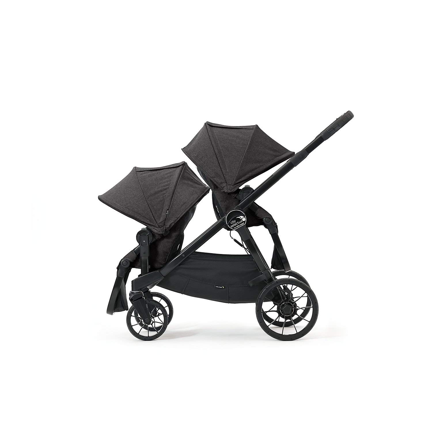 Baby Jogger City Select LUX Double Stroller, Granite by Baby Jogger