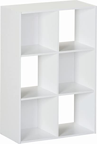 Superieur Ameriwood 6 Cube Storage Unit, White