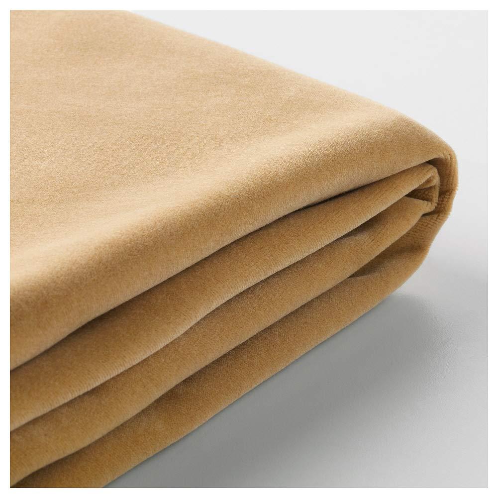 IKEA ASIA FARLOV WEB限定 3人掛けソファ用カバー Djuparp ストア B07H8BSQQB イエロー-ベージュ