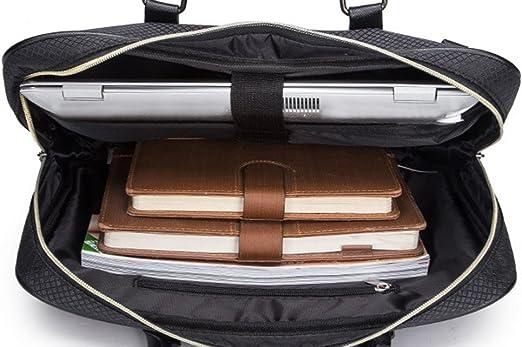 COOFIT Sacoche Ordinateur 15,6 Pouces Porte Document Besace Homme en Nylon Malette Bandouli/ère Homme Sac a Main Homme Sac Business