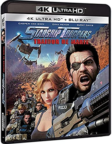 Starship Troopers Traidor De Marte 4K UHD + BD Blu-ray ...