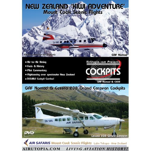 AirUtopia Cessna 208 Caravan Cockpit DVD - New Zealand ()