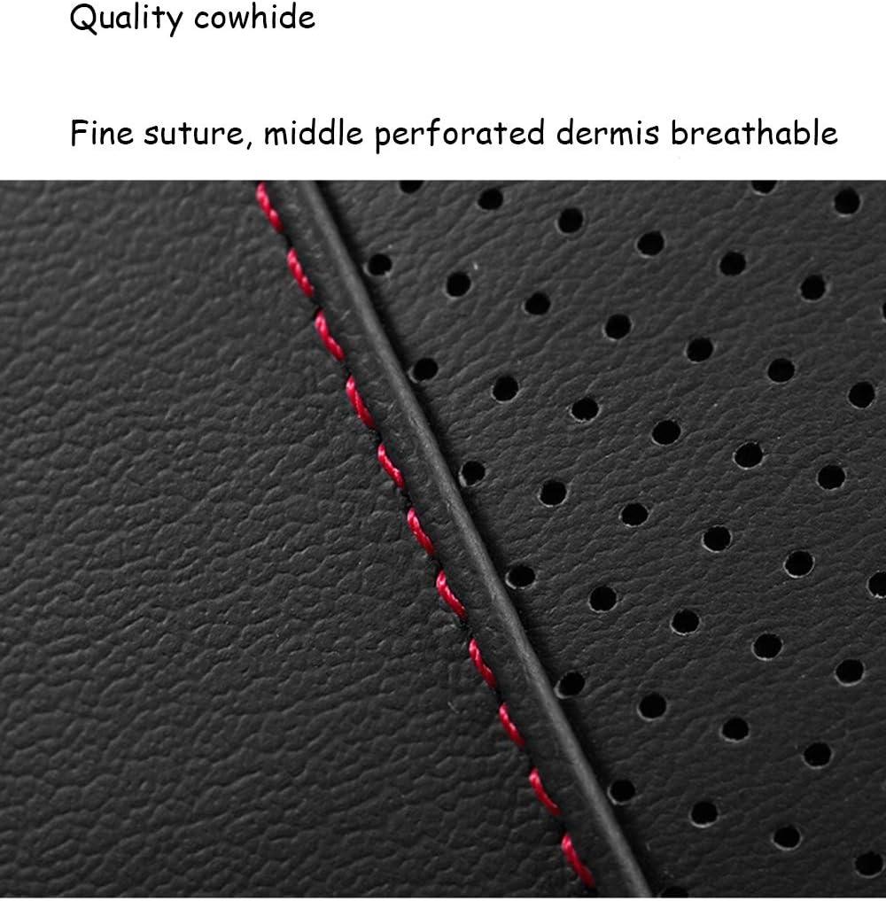 Color : Braun MJZHXM Auto-Sitzabdeckung Autozubeh/ör Lendenkissen Lenden Leder Memory Foam weich und bequem Multicolor Breath Vier Jahreszeiten verf/ügbar Gewirke Sitzzubeh/ör