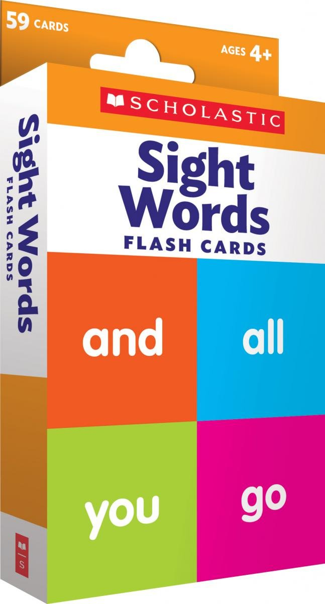 Essential Sight Words. Flashcards (Level 1)