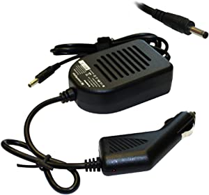 Power4Laptops DC Adapter Laptop Car Charger Compatible with HP Envy 15T-AS000, HP Envy 15T-AS100, HP Envy 15t-as1002, HP Envy 15t-as1003, HP Envy 15T-BP000