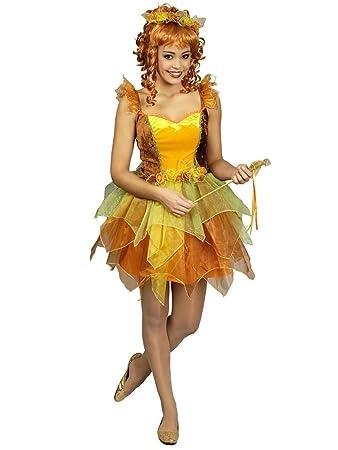 Generique Herbstliche Fee Kostüm Damen M Amazonde Spielzeug