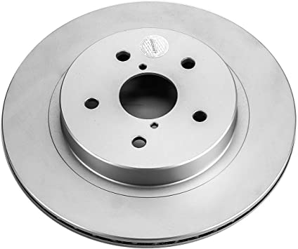Disc Brake Rotor-Evolution Genuine Geomet Coated Brake Rotor Rear Power Stop