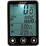 Ordenador Searon con retroiluminación, inalámbrico, para bicicleta, con control de velocidad y distancia y botones táctiles, impermeable