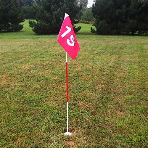 Tour Gear Portable Golf Flag with Cup by Tour Gear (Image #9)
