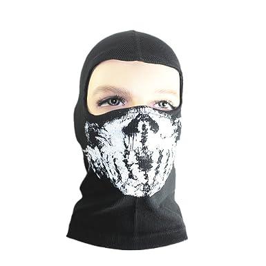 consegna veloce scarpe da ginnastica a buon mercato meglio Tinksky Balaclava passamontagna teschio Full Face Mask Hood per ...