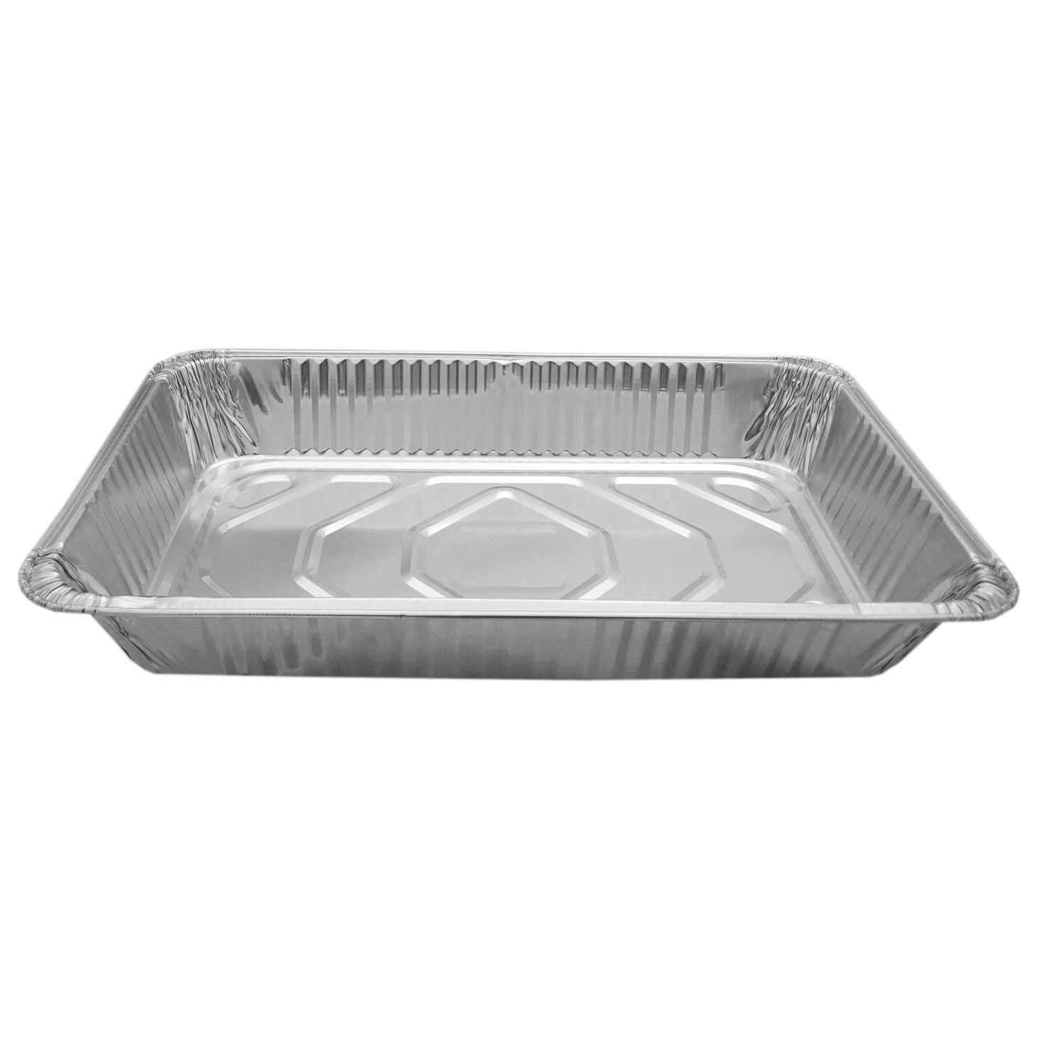 Party Essentials F20790 Heavy Duty Full Size Deep Aluminum Foil Steam Table Pan (Case of 50)