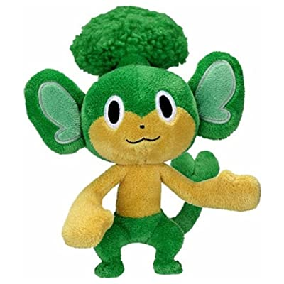 Jakks Pacific Pokemon Black & White Series 2 Pansage 5-Inch Plush: Toys & Games