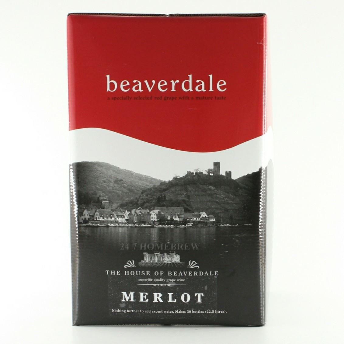 Beaverdale Merlot 30 Bottle Home Brew Wine Kit Ritchies