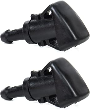 2pcs Windshield Washer Wiper Water Spray Nozzle For Dodge Charger Magnum Avenger