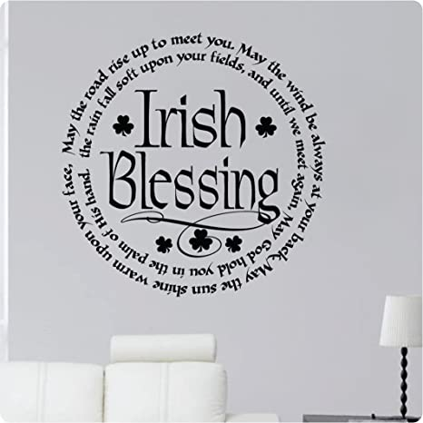 Amazoncom 24 Irish Blessing May The Road Rise Up To Meet You May