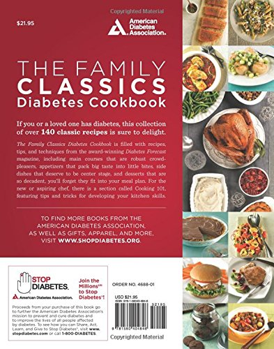 The family classics diabetes cookbook over 140 favorite recipes the family classics diabetes cookbook over 140 favorite recipes from the pages of diabetes forecast magazine american diabetes association 9781580404846 forumfinder Choice Image