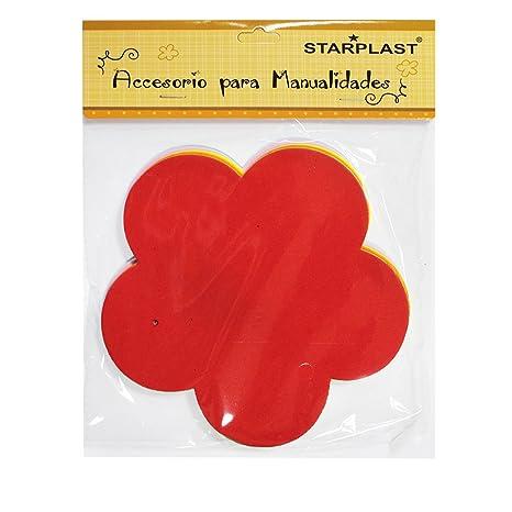 ed294605a 131789 - Figura de flor de goma eva, 36 unidades, colores variados, especial