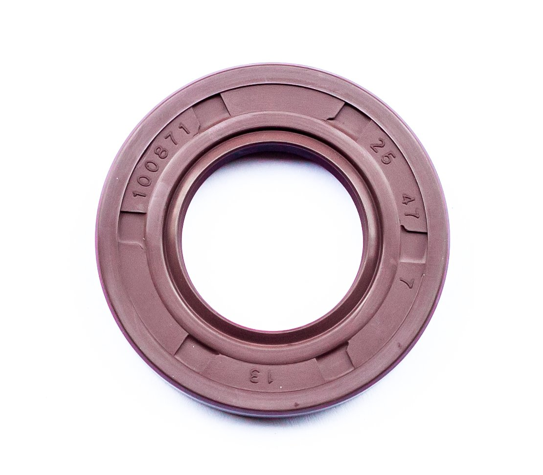 EAI VITON Oil Seal 17mm X 35mm X 5mm TC Double Lip w//Stainless Steel Spring Metal Case w//Viton Rubber Coating