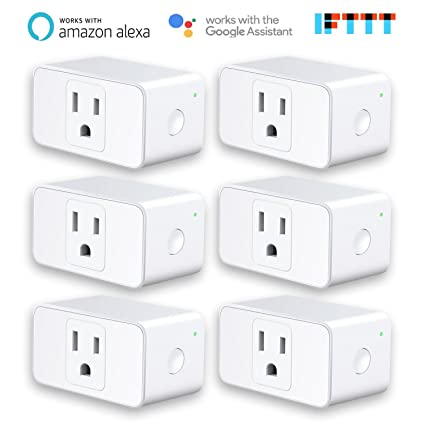 Meross Smart Plug Mini, Works with Alexa /& Google Assistant