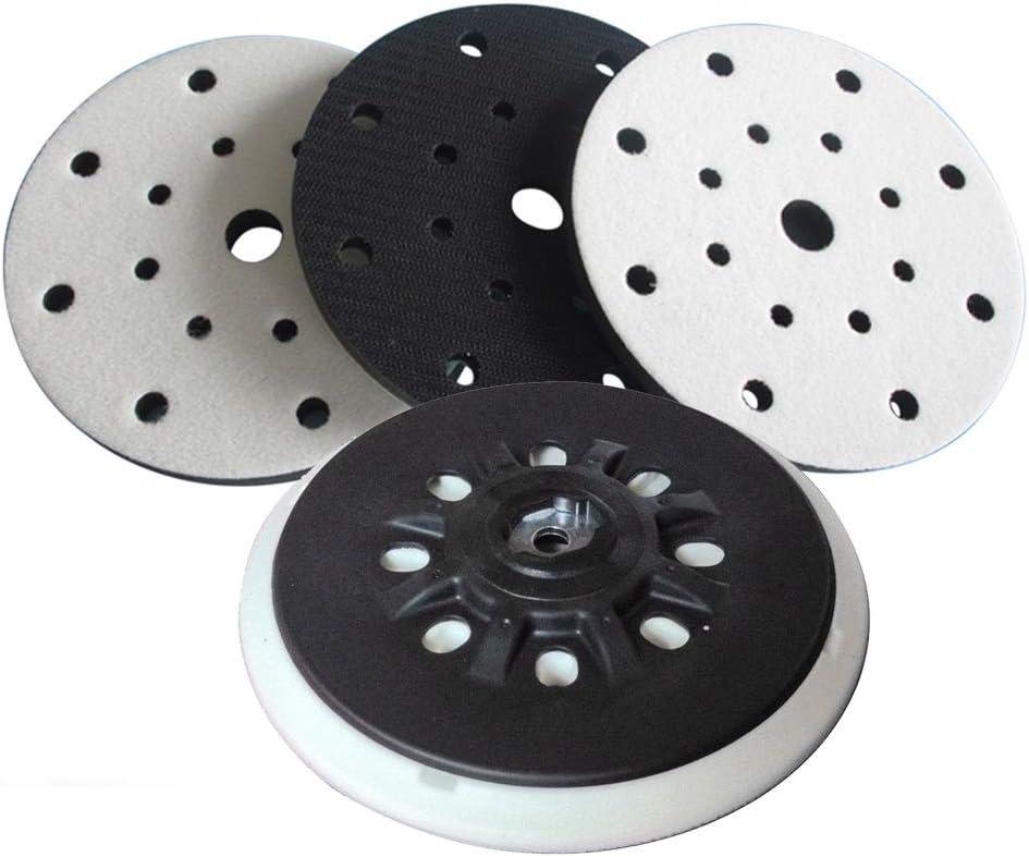 KingSaid Disque de Pon/çage 150 mm Compatible Excentriques Festool Festo ETS WTS Lex Le Disque de Pon/çage 150 mm Compatible Disque Abrasif Disque Abrasif Papier Sabl/é Papier Sabl/é
