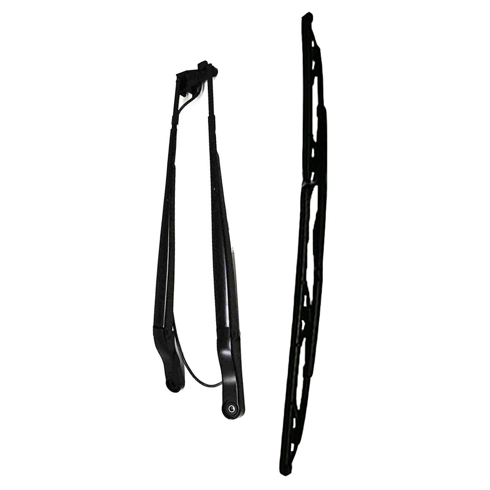 Solarhome Wiper Arm 7168953 + Wiper Blade 7168954 for Bobcat Skid Steer Loaders S630 S650 S740 S750 S770 S850 S450 S510 S530 S550 T450 T550 T590 T630 T650 T750 T770 T870 A770 by Solarhome