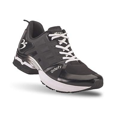 Gravity Defyer Men's G-Defy Scossa Black Athletic Shoes 7.5 ...