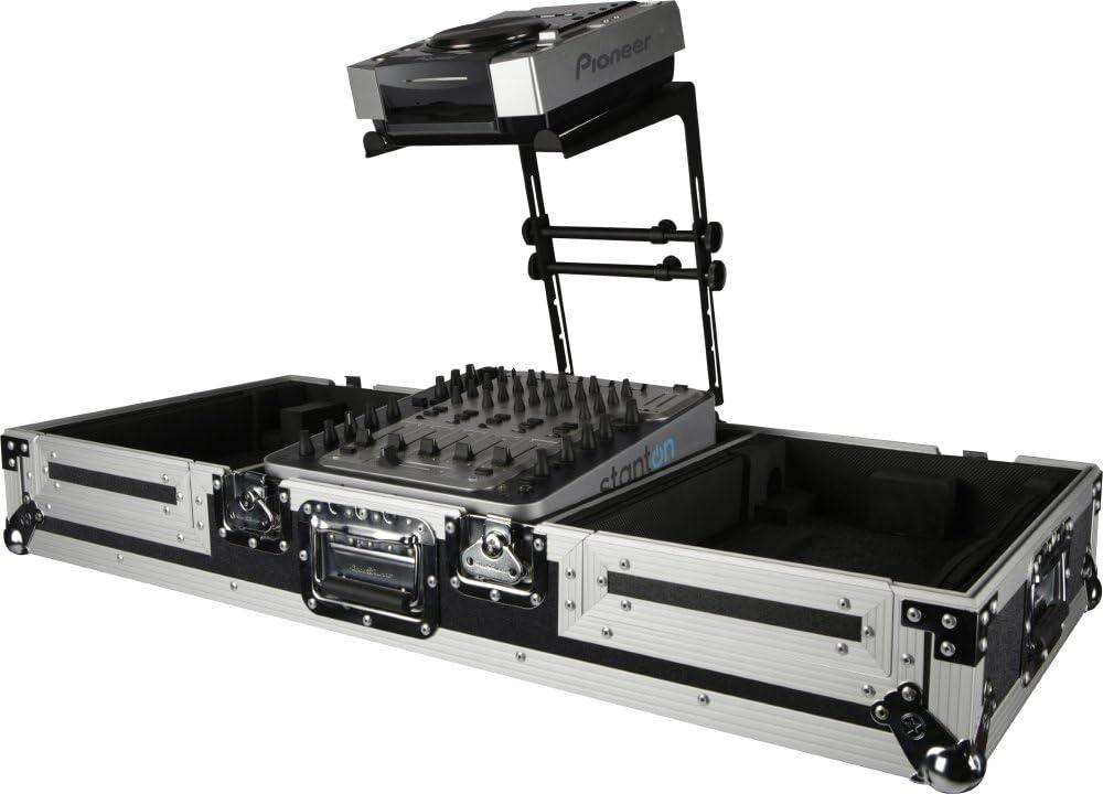 DR Pro DJ Laptop Stand and Shelf Bundle Black