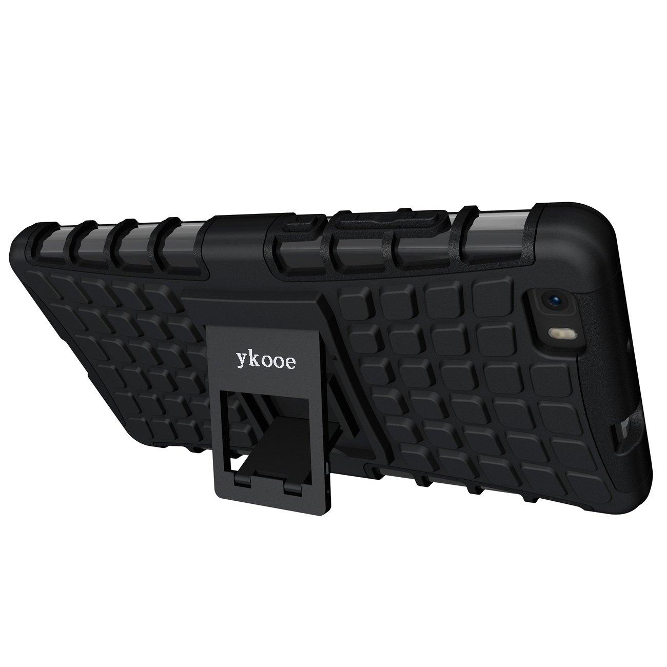 Amazon.com: Huawei P8 Lite Funda, ykooe Armor Heavy Duty ...