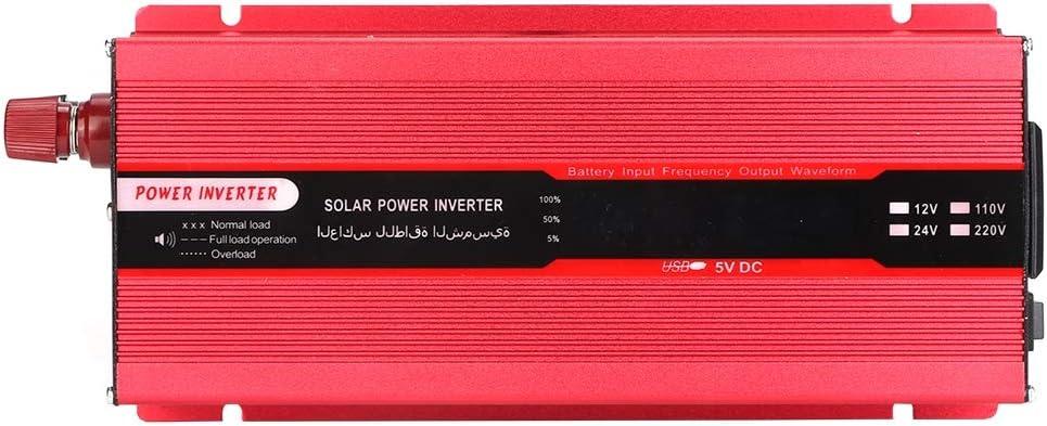 Auto Wechselrichter Auto Solar Power 6000W Wechselrichter USB Lade LCD Anzeige DC 12V bis AC 220V
