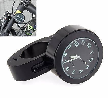 """Manillar de montaje Digital reloj 7/8"""" motocicleta moto accesorio impermeable ..."""